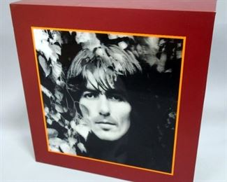 George Harrison 180-gram Limited Vinyl Box Set, All His Solo Work, Holographic Box Front, 18 LPs, Unplayed