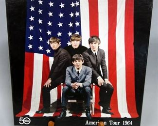 The Beatles 50 American Tour 1964 Box Set With Tour Books, Buttons, Tickets