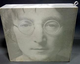 John Lennon Box Of Vision Limited Edition Time Capsule CD Storage, Catalography & Art Book, #3689