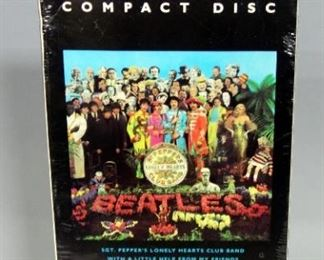 The Beatles Sgt. Peppers Lonely Hearts Club Band Longbox Long Box CD West Germany, Sealed, New