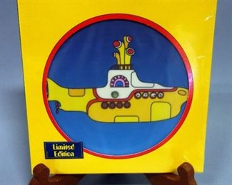 """The Beatles Yellow Submarine 7"""" Picture Disc Limited Edition Vinyl, 2015 Record Store Day New"""