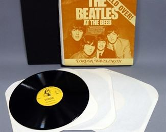 The Beatles At The BEEB BBC 1962-1965 3 LP Box Set, NM Vinyl