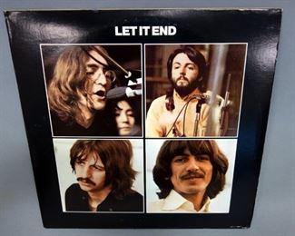 The Beatles Let It End, Let It Be Outtakes, 2 x LP, Sapcor 42, Unofficial Release, NM Vinyl