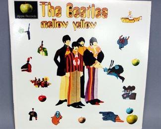 The Beatles Mellow Yellow, Ringo Starr ABC Radio Show, Yellow Submarine, 2 x LP, 1985 Sapcor 39, Unofficial Release, NM Vinyl