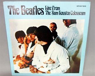 The Beatles Live From The Sam Houston Colosseum, 2 x LP, Audifon BVP 006, 1973 German Unofficial Release, NM Vinyl