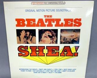 The Beatles SHEA!, Unofficial Release, NM Vinyl