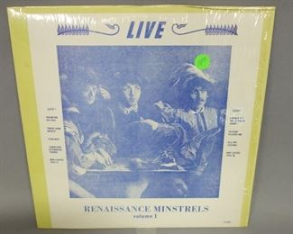 The Beatles Live Renaissance Minstrels, 1970 Unofficial Release, In Shrinkwrap, NM Vinyl