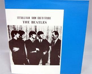 The Beatles Ed Sullivan Show CBS TV Studio 1964, Zap Demo LP, Unofficial Release, NM Vinyl