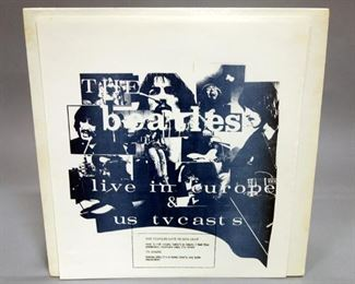 The Beatles Live In Europe And US TV Casts, Kansas City, Germany, Unofficial Release, NM Vinyl
