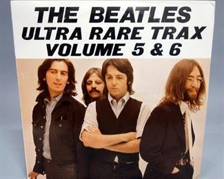 The Beatles Ultra Rare Trax Volume 5 And 6, 2 x LP, BEEB Transcription Records, Unofficial Release, NM Vinyl