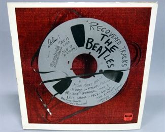 The Beatles Recovered Tracks, 2 x LP, Interviews, Outtakes, Split Cover, Unofficial Release, NM Vinyl