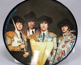 The Beatles Timeless Limited Edition Picture Disc, Silhouette Records, NM Vinyl