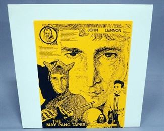 The Beatles John Lennon The May Pang Tapes , Cry Baby Records, Unofficial Release, NM Vinyl