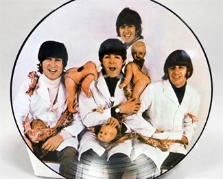 The Beatles Casualties Picture Disc, Butcher Cover Disc, Unofficial Release, NM Vinyl
