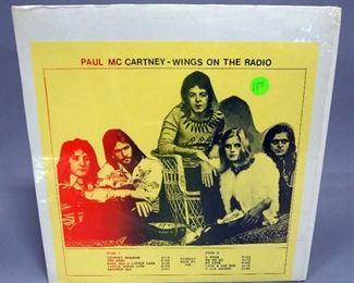 Paul McCartney Wings On The Radio, Unofficial Release, NM Vinyl