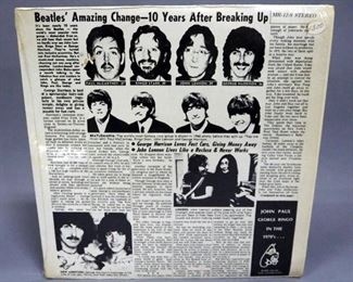 The Beatles, John Paul George Ringo In The 1970's Rare Music And Interviews, Unofficial Release, NM Vinyl