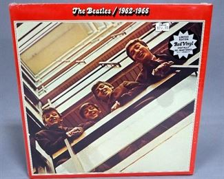 The Beatles 1962-1966, 1993 UK Import Remastered Limited Edition Red Vinyl, 2 x LP, Apple Records, Sealed