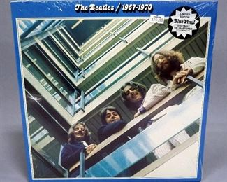 The Beatles 1967-1970, 1993 UK Import Remastered Limited Edition Blue Vinyl, 2 x LP, Apple Records, Sealed