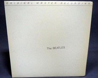 The Beatles White Album, Mobile Fidelity Sound Lab MFSL 2-072, 2 x LP, NM Vinyl