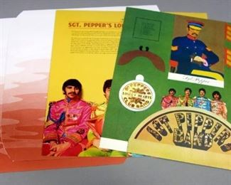 The Beatles Sgt. Peppers Lonely Hears Club Band 180 gram 2 x LP 50th Anniversary Release With Insert, NM Vinyl