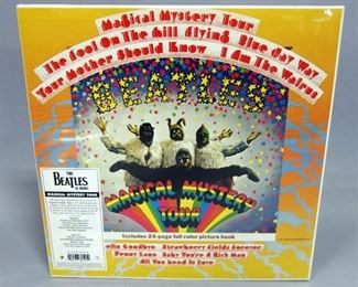 The Beatles Magical Mystery Tour, 180 Gram Mono Reissue, Sealed New