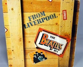 The Beatles Box From Liverpool, 8 x LP, Japan Issued, NM Vinyl