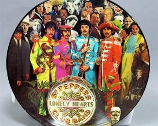 The Beatles Sgt. Peppers Lonely Hearts Club Band Picture Disc