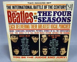 The Beatles vs The Four Seasons, 2 x LP, Vee-Jay Records, VG+ Vinyl
