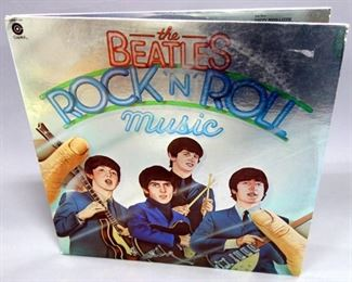 The Beatles HELP! Capitol SMAS 2386, Rock N' Roll Music 2 x LP Capitol SKBO 11537, VG++ Vinyl, Qty 2