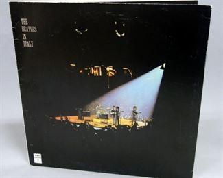The Beatles In Italy, EMI Italy 064-04632, NM Vinyl