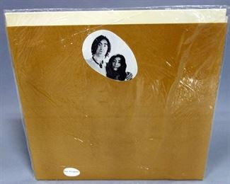 John Lennon Yoko Ono Two Virgins, Unfinished Music No. 1, Sealed With Bag