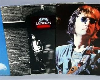 John Lennon Live In New York, Rock N' Roll, Plastic Ono Band - Live, All NM Vinyl, Qty 3