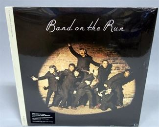 Paul McCartney And Wings Band On The Run, 2 x LP 180 gram Vinyl Audiophile Edition, Sealed
