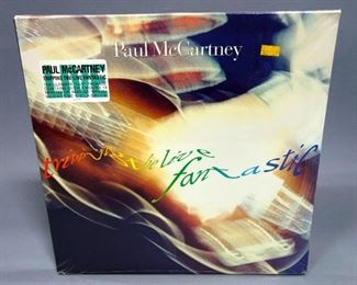Paul McCartney Tripping The Live Fantastic, 3 x LP, Sealed