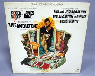 Paul McCartney Venus And Mars w 2 Posters And Sticker VG+ Vinyl, McCartney VG+ Vinyl, Live And Let Die Soundtrack NM Vinyl, Qty 3