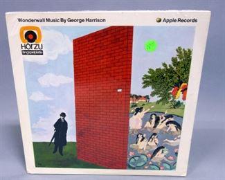 George Harrison Wonderwall Music, Horzu German Issue SHZE250, Sealed