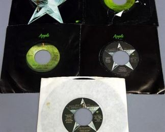 Ringo Starr 45 rpm Records, You're Sixteen, Photograph, Back Off Boogaloo, It Don't Come Easy, More, VG++ to NM, Qty 5