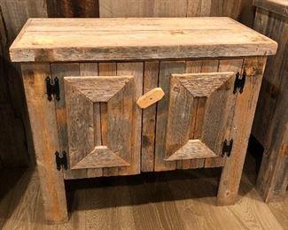 Barnwood cabinets.....