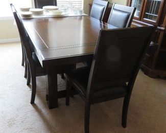 Ashley Furniture extension dining table and 6 chairs - sale pending