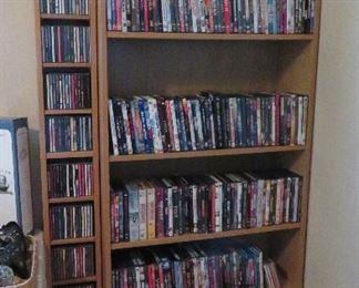 CDs, DVDs