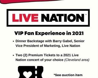 Lot 008 VIP EXPERIENCE - Return the Live Concert - Once in a lifetime fan experience