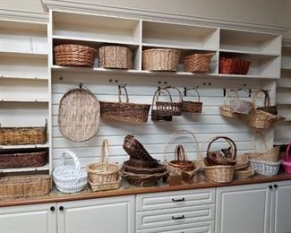 Tons of baskets priced to go!!  Available for in-home shopping.
