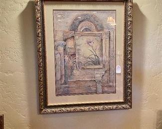 "(Item Base 128) ~ $75 Set of 3 Wall Art- 40"" x  32"""