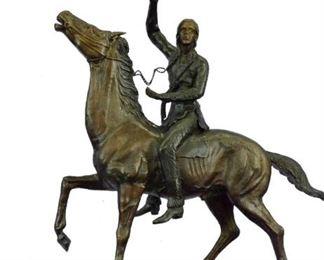 Remington Bronze Statues