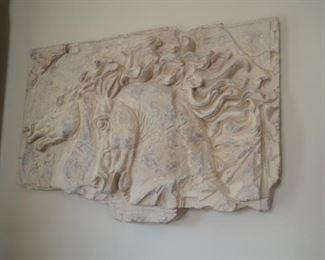 Horse Resin Wall Decor