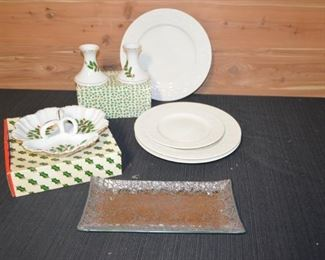 Christmas Serving Plates