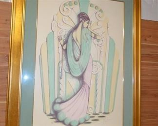 """Mary Vicker's """"All About Love"""" Limited Edition Print Signed Art and numbered"""