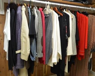 Designer Clothing--Dana Buchman, Eileen Fisher, St. John etc...
