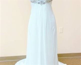 Strapless Bridal Gown Size 14
