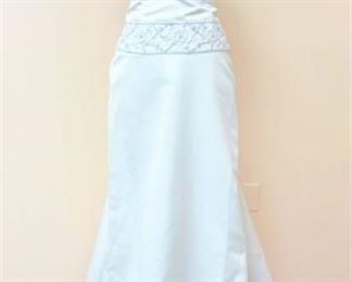 Jasmine Haute Couture Bridal Gown - no size tag - fits like a size 10/12